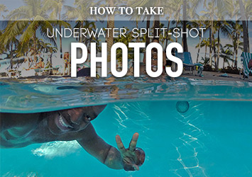 How to Take Half Underwater Split-Shot Photos (Tutorial)