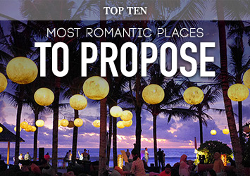 Top 10 Most Romantic Marriage Proposal Ideas & Destinations