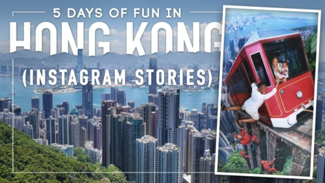 Play Video: 5 Days of Hong Kong FUN! The Peak, Disneyland, Victoria Harbour, Yum Cha + more