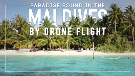 Play Video: Maldives is Paradise! Beach Vacation Fun with our GoPro & DJI Mavic Pro Drone