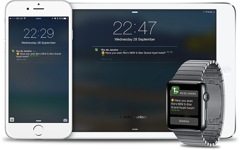 Push Notifications for Travel, Tourism & Hospitality Brands