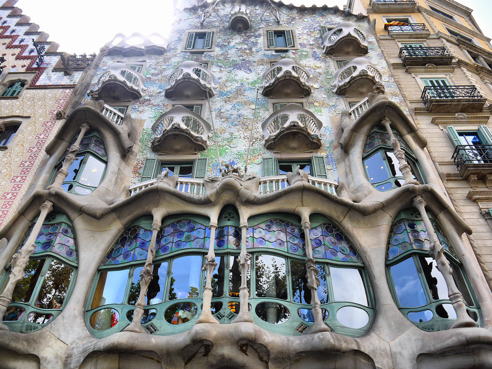 Stepping Into Gaudi's Fairytale at Casa Batlló - Barcelona, Spain
