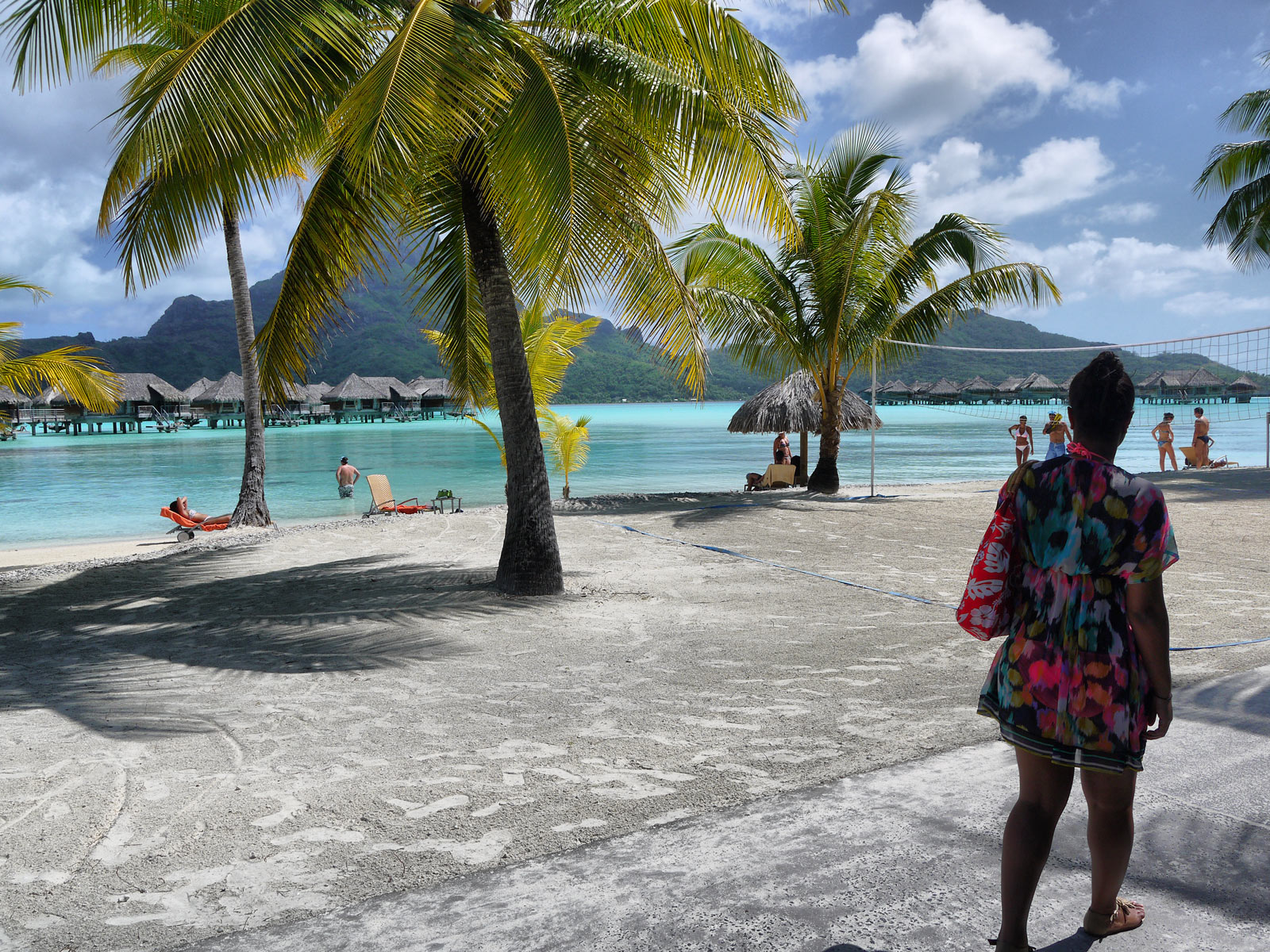 Life's a Beach: Volleyball, Sunbathing, Swimming, Strolling - Bora Bora, French Polynesia