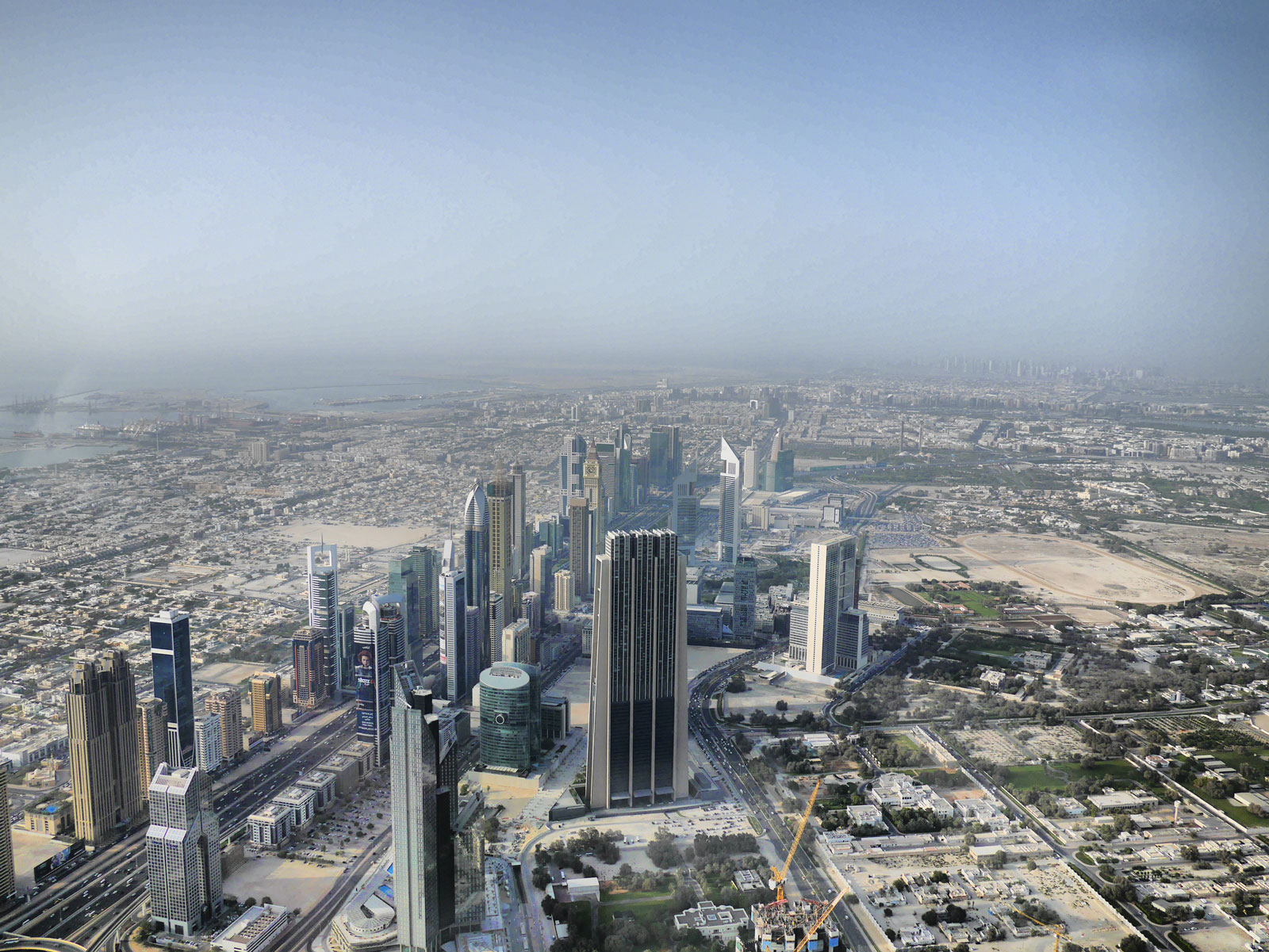 At the Top: The View from Burj Khalifa - Dubai, United Arab Emirates
