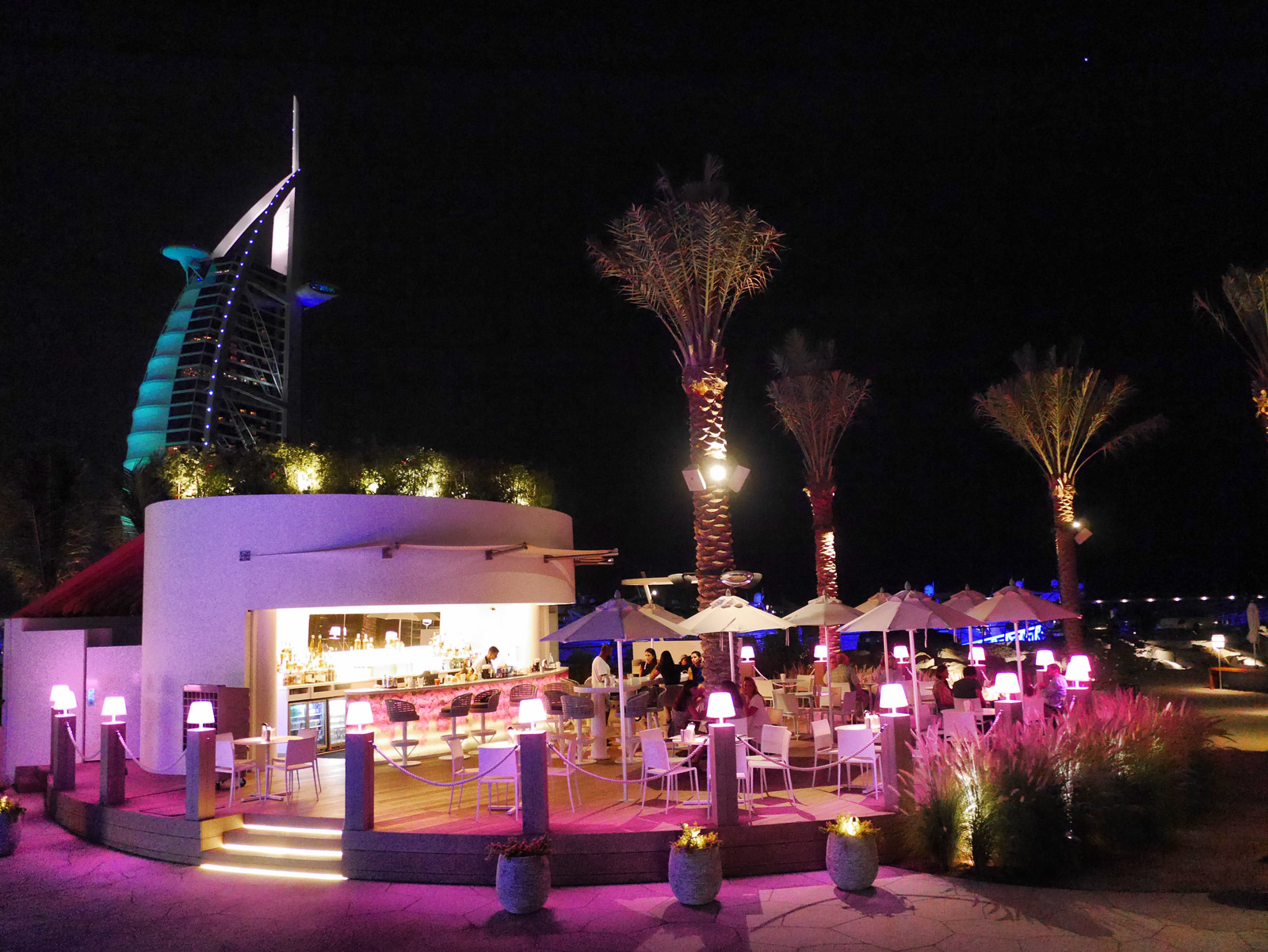 Drinks With a View at Cove Beach - Dubai, United Arab Emirates