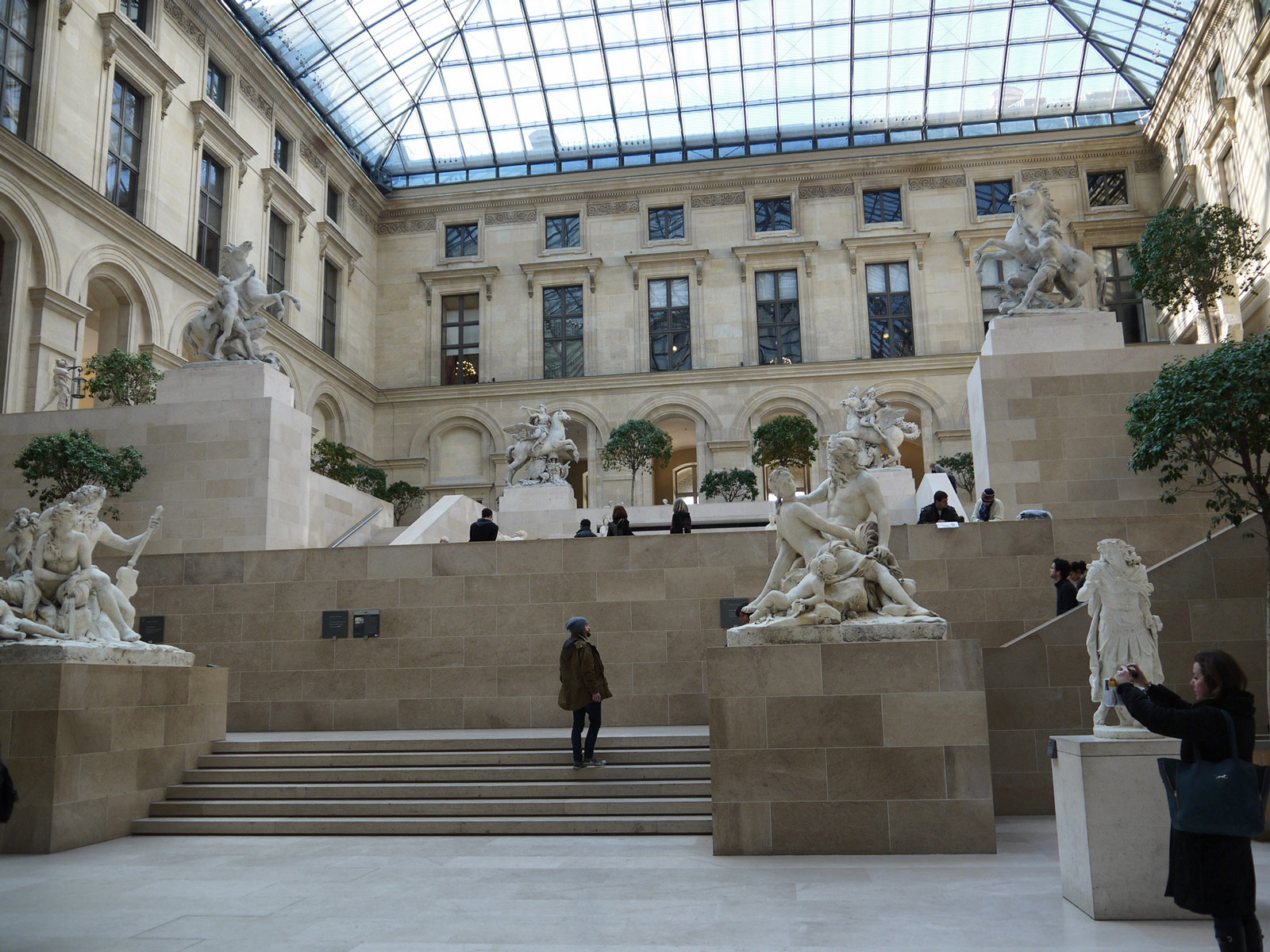 Louvre: Wandering Amongst the Sculptures - Paris, France
