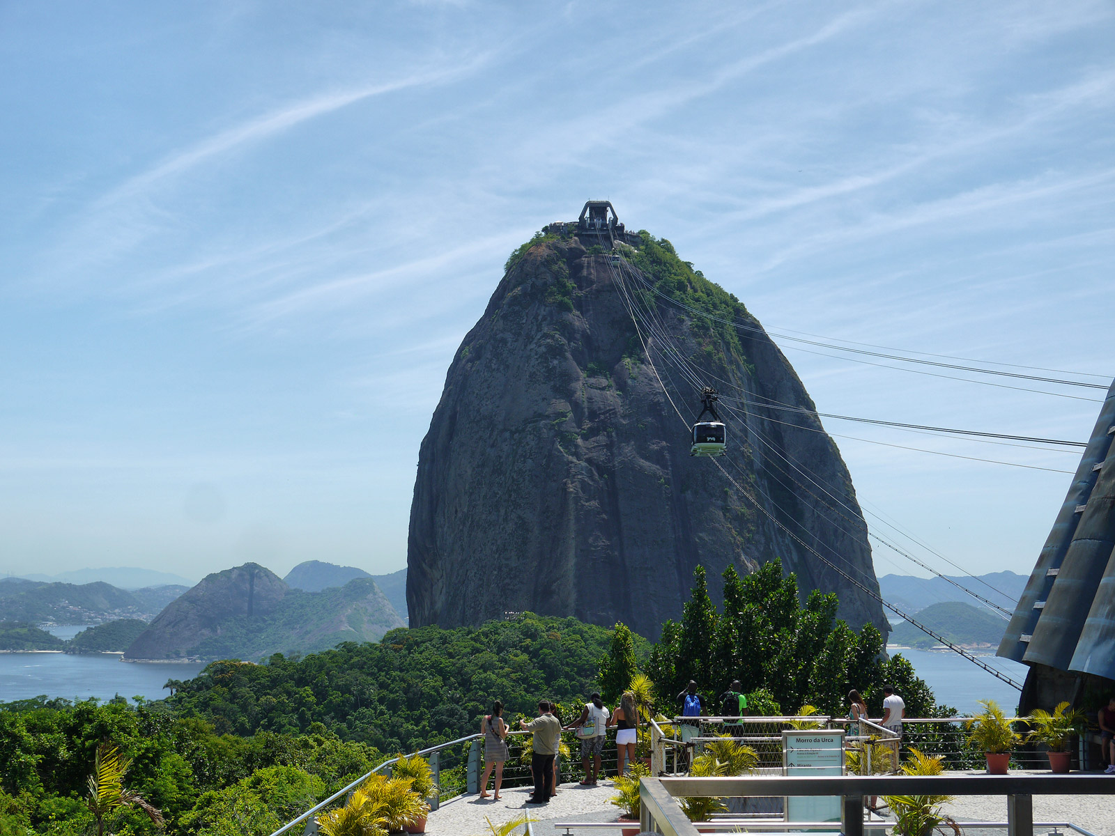 From Urca Hill to Sugarloaf Mountain - Rio de Janeiro, Brazil