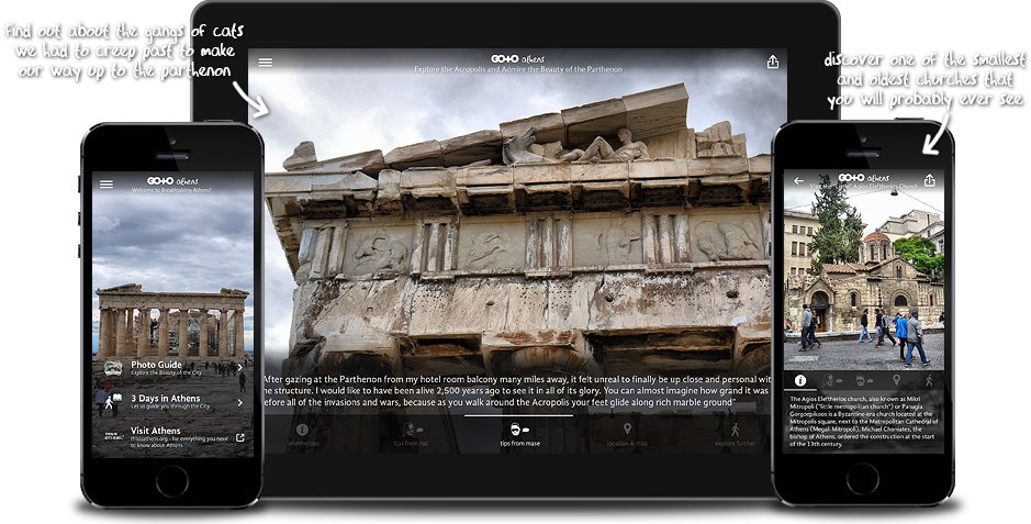 Go To Athens: Travel Guide, Photos & Things To Do for iPhone, iPad, Apple TV and Android