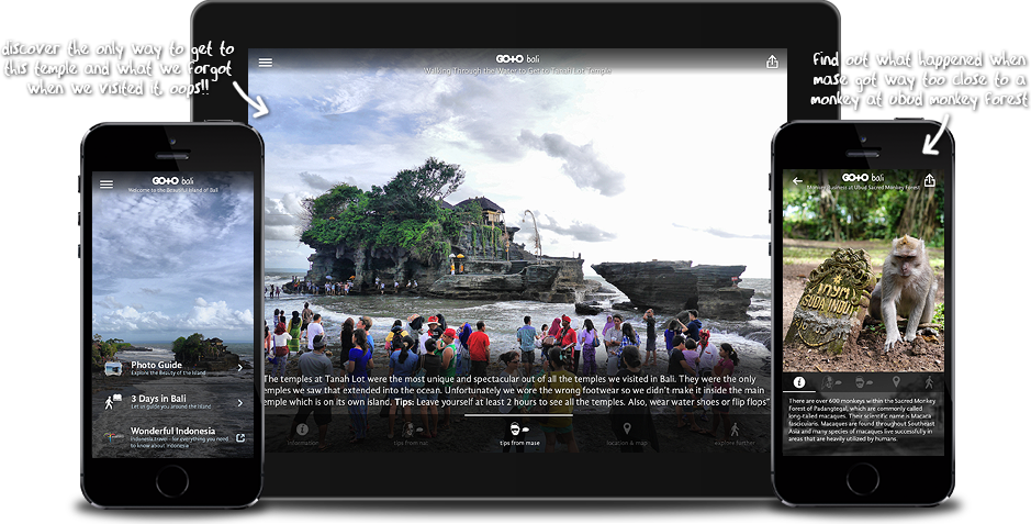 Go To Bali: Travel Guide, Things To Do & Attractions for iPhone, iPad, Apple TV and Android
