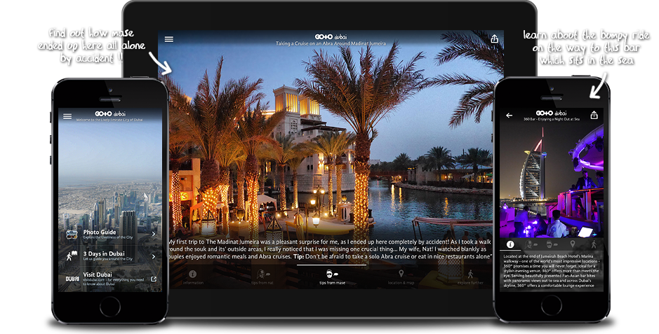 Go To Dubai: Travel Guide, Things To Do & Attractions for iPhone, iPad, Apple TV and Android