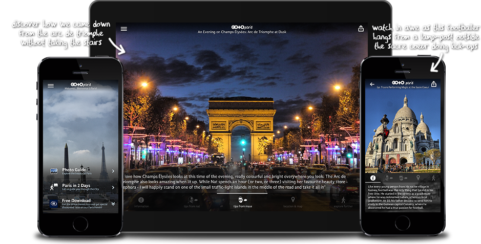 Go To Paris: Travel Guide, Things To Do & Attractions for iPhone, iPad, Apple TV and Android