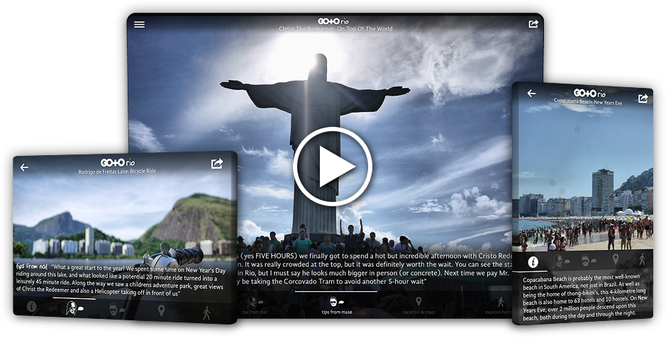 Go To Rio: Travel Guide, Things To Do & Attractions for iPhone, iPad, Apple TV and Android