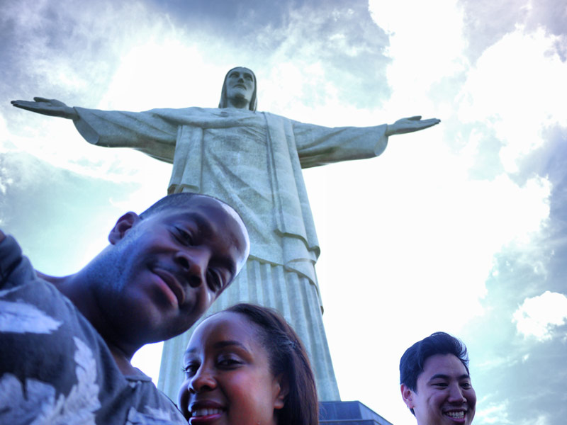 After 5 Hours, We Finally Made It to Christ the Redeemer