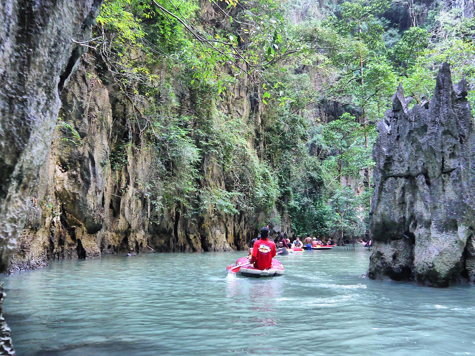 Cave Canoeing Through Mangroves In Phang Nga Bay
