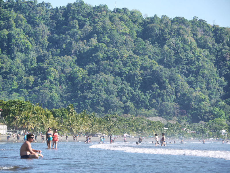 Jaco Beach - With its Lush and Tropical Surroundings - Costa Rica