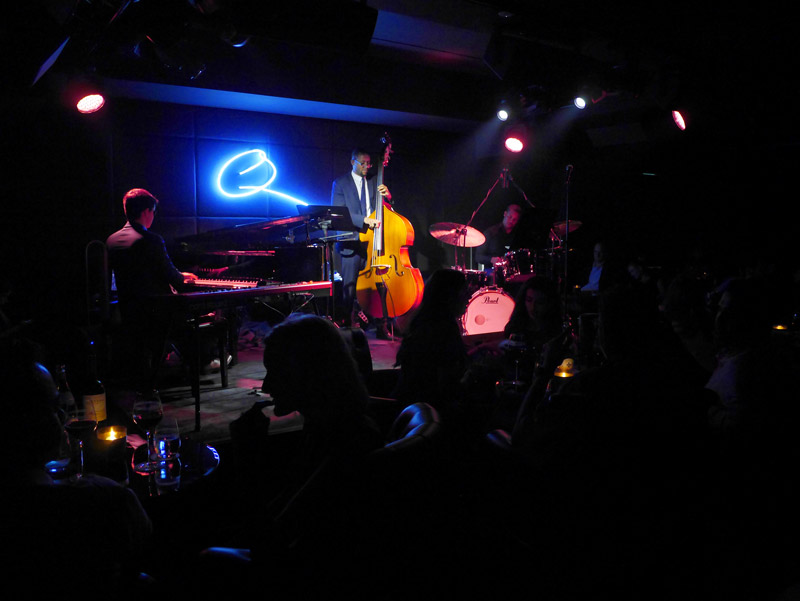 Q's Bar & Lounge: Justin Kauflin and his Band on the Legendary Quincy Jones' Stage