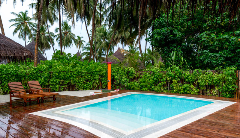 The Children at Sun Aqua Vilu Reef even get their own Private Swimming Pool !!