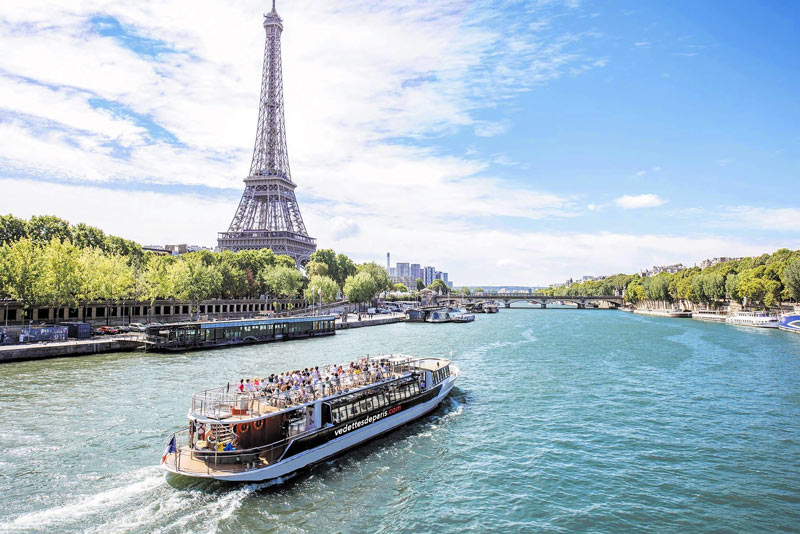 Enjoy a River Seine Cruise as it Sails Past Iconic Landmarks Such as the Eiffel Tower