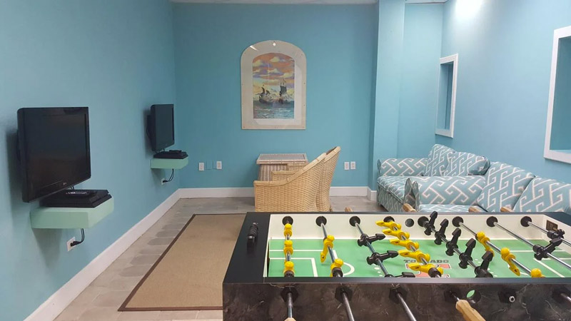 Popular With Teens - The Games Room Comes Complete with Table Football, DVD's and Video Games