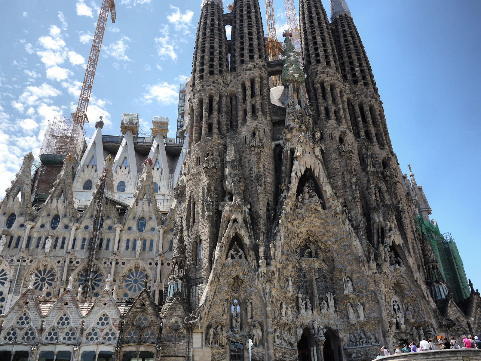 Taking In the Overwhelming Beauty of Sagrada Familia - Barcelona, Spain