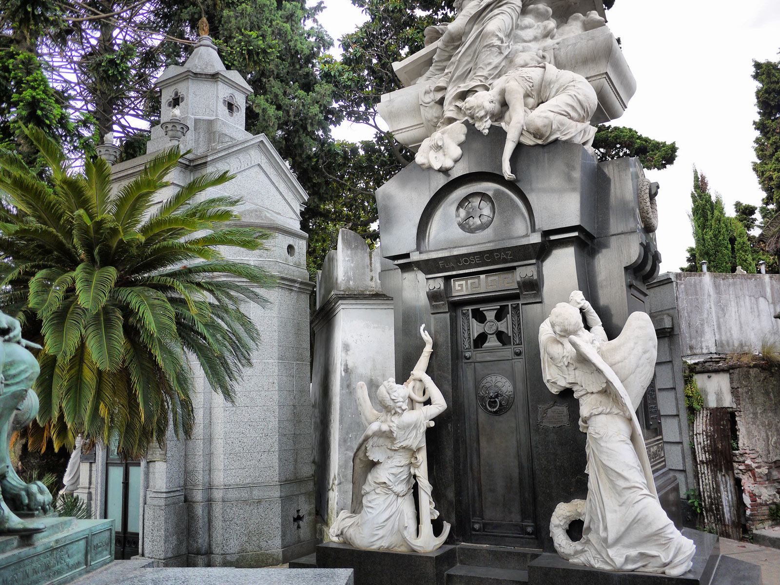 The Glamorous Tombs of Recoleta Cemetery - Buenos Aires, Argentina