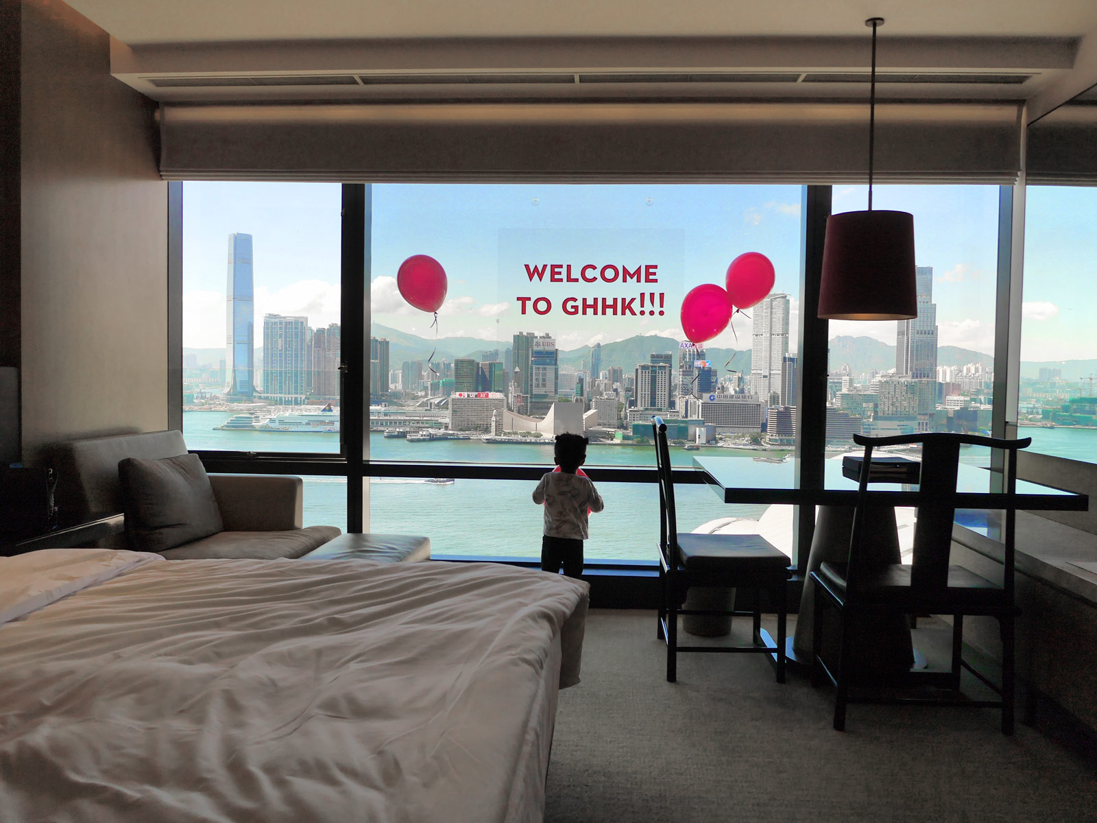 A Grand Welcome with Even Grander Victoria Harbour Views - Hong Kong, China