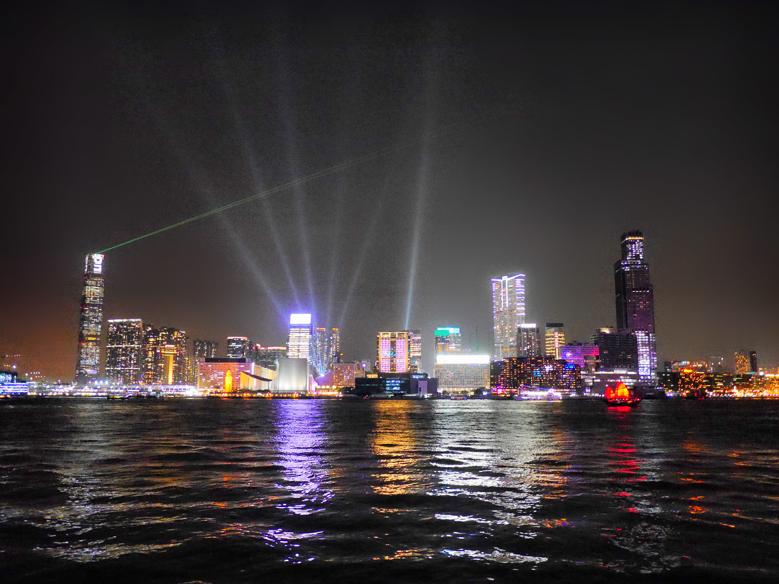 A Symphony of Lights: Watch the Night Skyline Come Alive (8PM Daily) - Hong Kong, China
