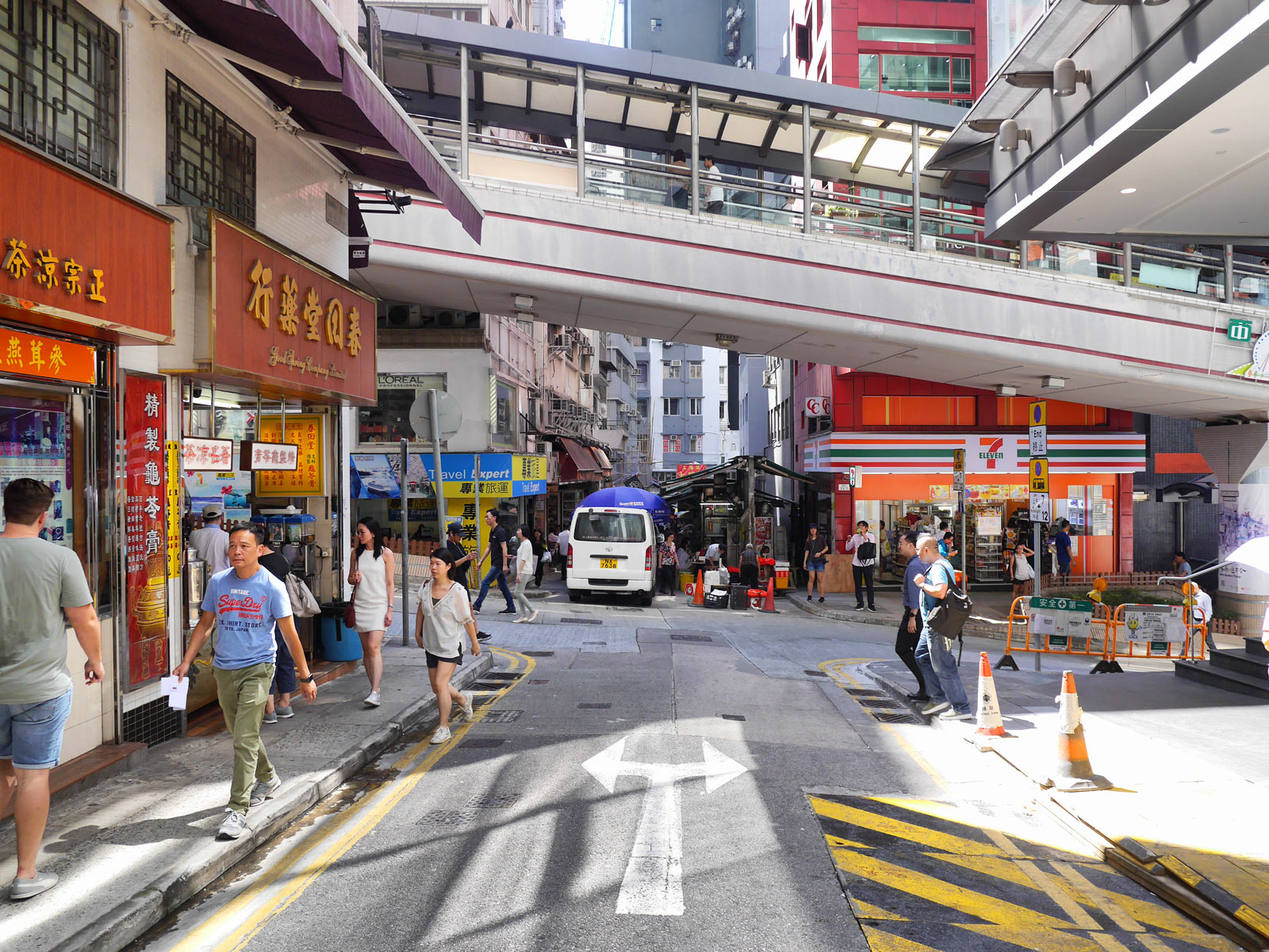 Wander the Back Streets of Central to the Mid-Levels Escalator - Hong Kong, China