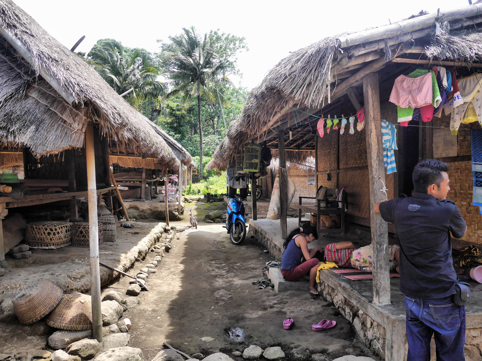 Meeting the Local People at Senaru Village - Lombok & The Gili Islands, Indonesia
