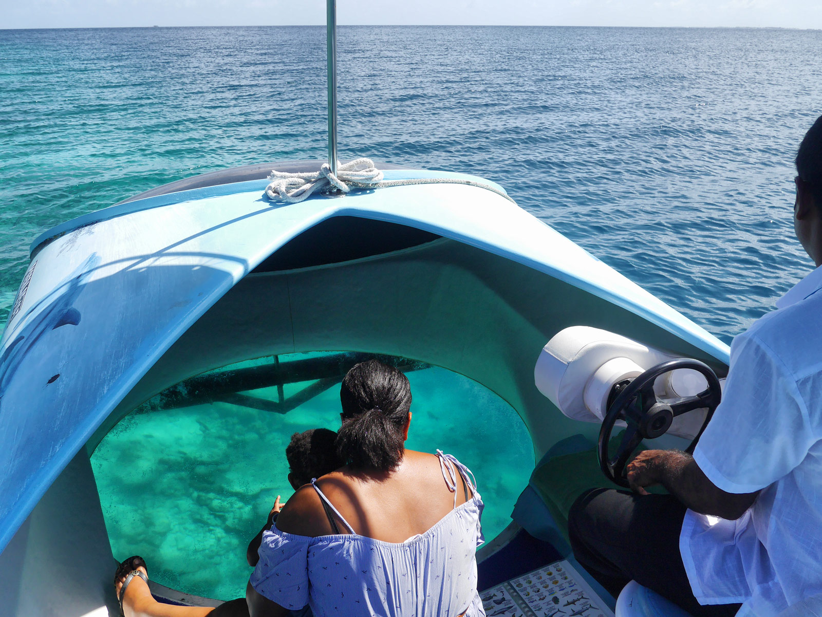 Glass-Bottom Boat: In Awe of the Indian Ocean - The Maldives, The Maldives