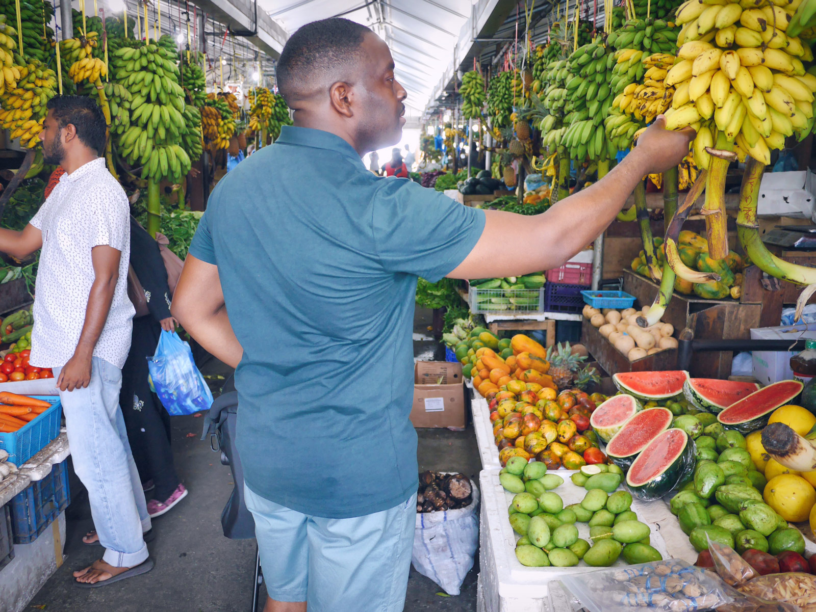 Dhathuruveringe Market: Local Fruit & Vegetables - The Maldives, The Maldives