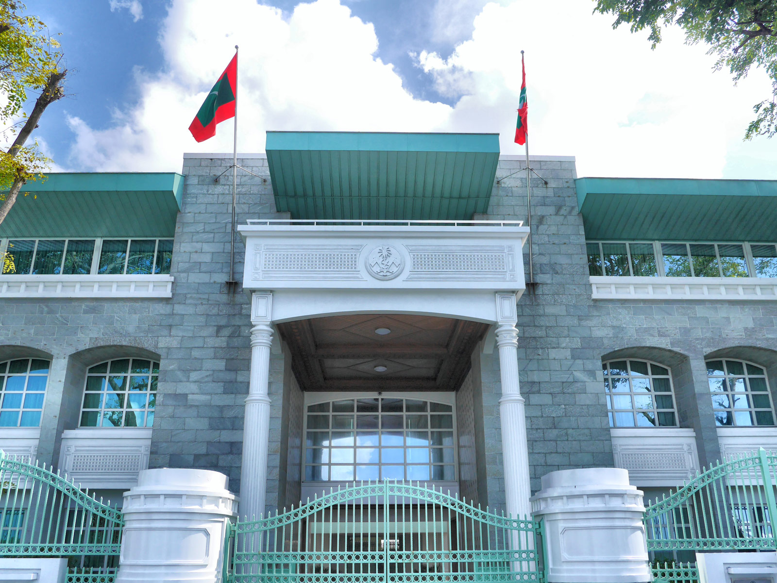 Visit the The President's Office in Malé - The Maldives, The Maldives