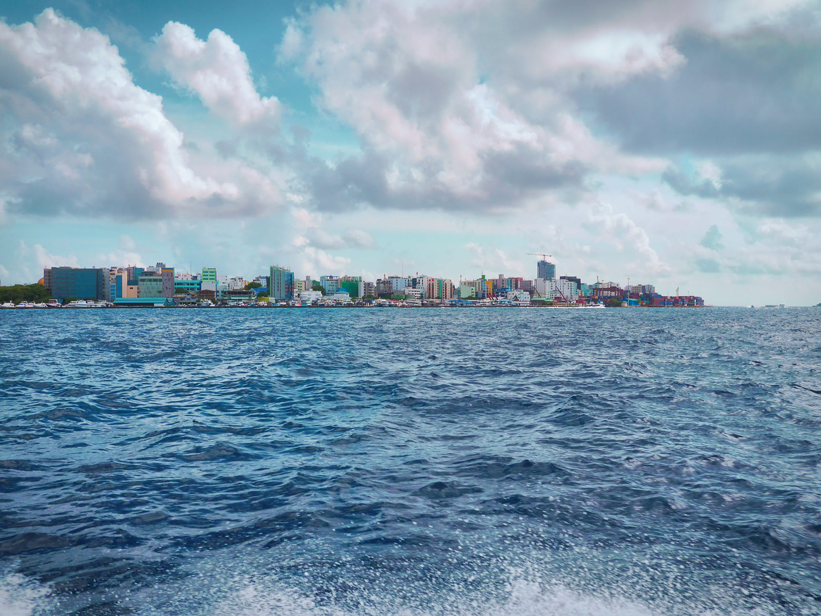 Bored of the Resort? Take a Speedboat to Malé - The Maldives, The Maldives