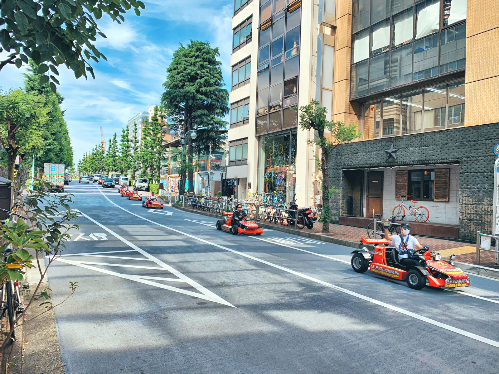 Race Through the Streets: Experience Mario Kart in Real Life! - Tokyo, Japan
