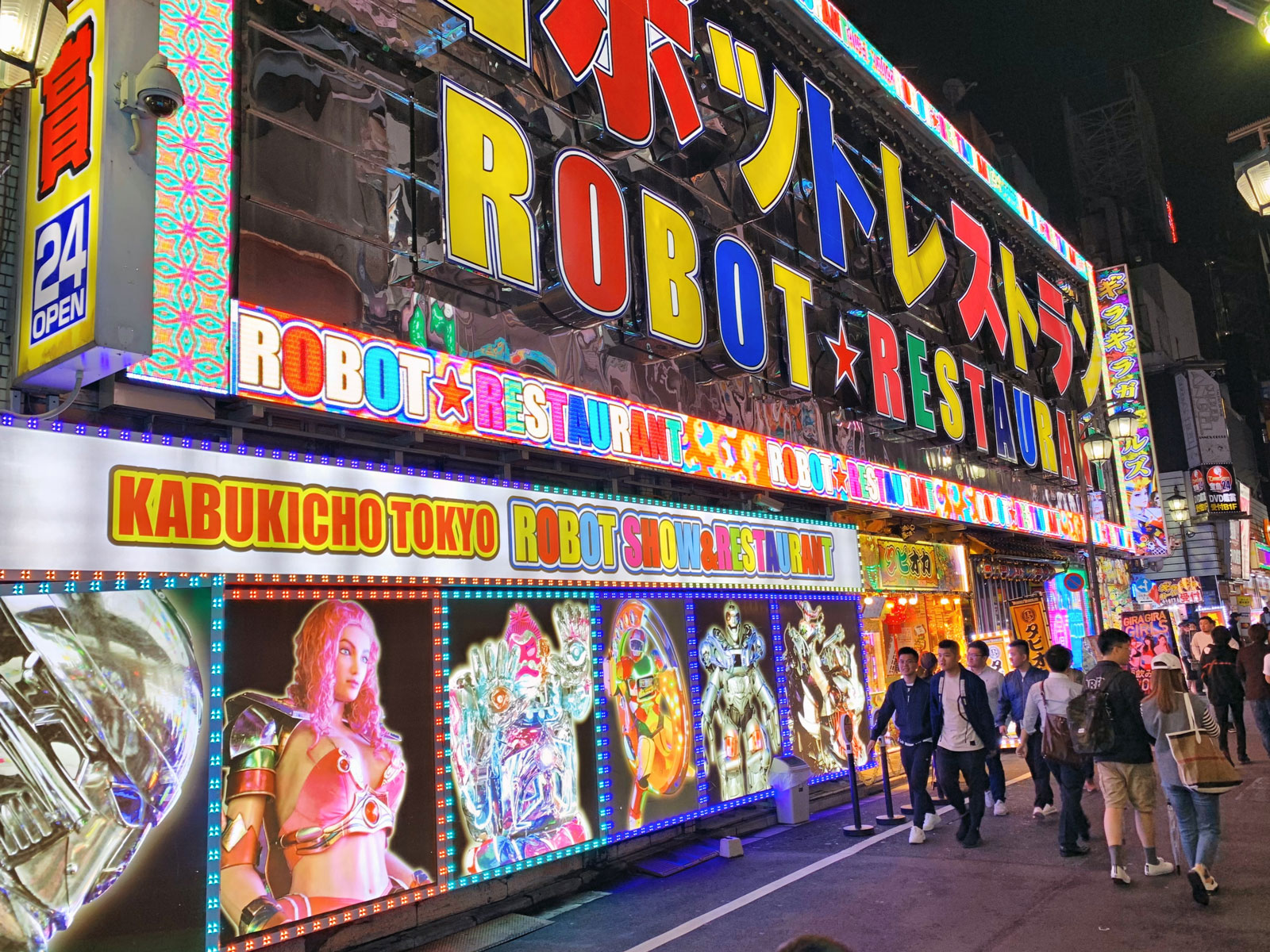 Be Amazed by a Dazzling Show at the Robot Restaurant - Tokyo, Japan
