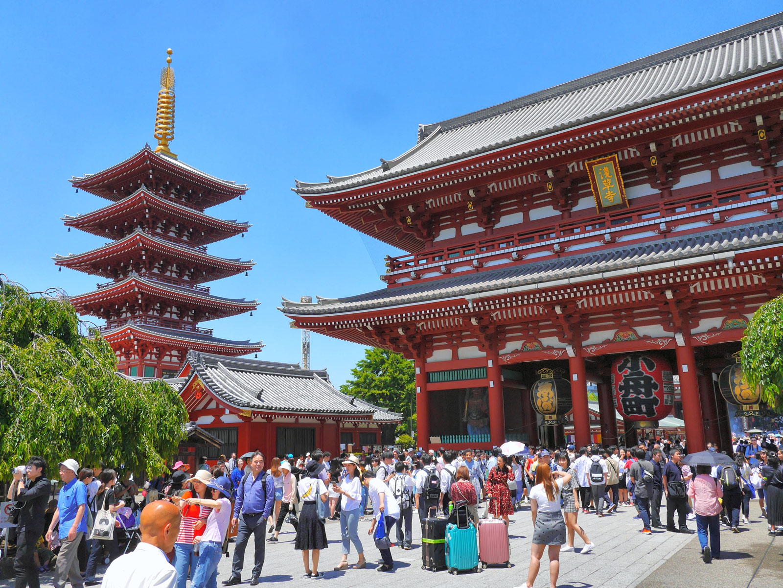 Senso-ji: Marvel at Tokyo's Oldest, Most Colourful Temple - Tokyo, Japan