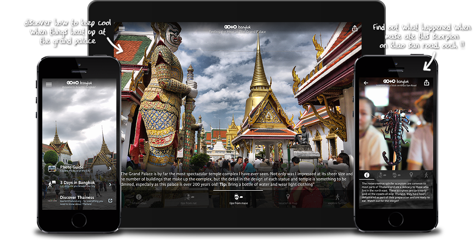 Go To Bangkok: Travel Guide, Things To Do & Attractions for iPhone, iPad, Apple TV and Android