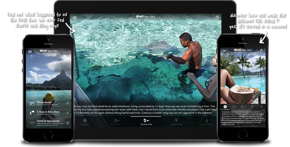 Go To Bora Bora: Travel Guide, Things To Do & Attractions for iPhone, iPad, Apple TV and Android
