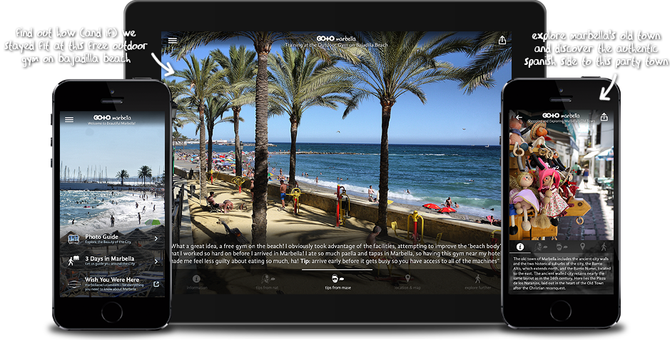Go To Marbella: Travel Guide, Photos & Things To Do for iPhone, iPad, Apple TV and Android
